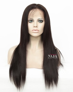 360 Closure Yaki Hair Wig Cheap 360 Lace Front Wig
