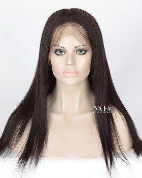 360 Full Lace Human Hair Yaki Wig 150 Density Wig