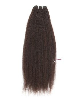 Afro Kinky Bulk Human Hair Virgin Brazilian Natural Color
