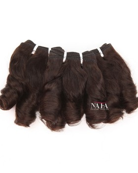 Special Design Of Big Curly Hair Weave 3 Bundles Indian Virgin