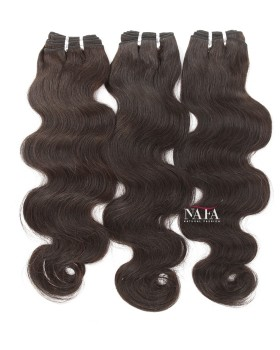 Black Women Natural Long Afro Hair  3Bundles