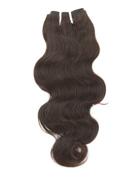 Virgin Brazilian Body  Wave Human Hair Natural Color