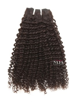 Nafawigs Brazilian Curly Weave Bundles Natural Color