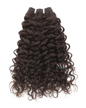 Virgin Brazilian Curly Weave Hair Bundles Natural Color