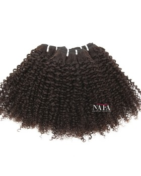 Nafawigs Brazilian Jerry Curl Natural Hair 3 Bundles