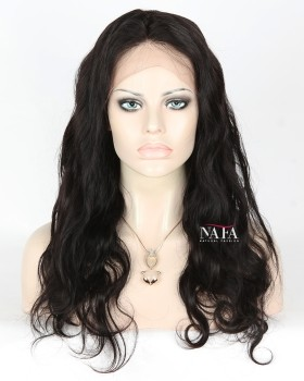 Cheap Pre Plucked 360 Full Lace Yaki Straight Wigs For Black Women