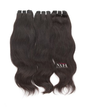 Natural Color Virgin Chinese Short Hair Natural Straight Black Hair 3 Bundles