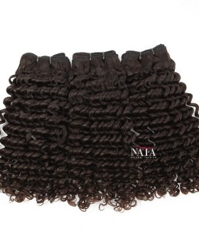 Peruvian Deep Wave Curly Weave Virgin Human Hair 3 Bundles