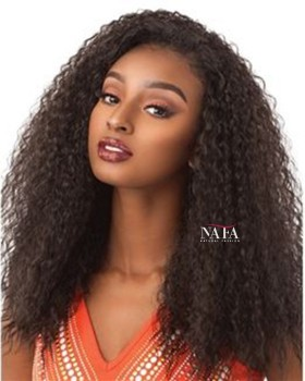Unique Design Spanish Wave Brazilian Wig Light Brown Lace Color