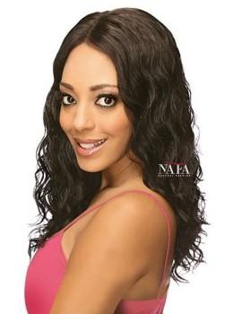 Charming Natural Wave Brazilian Human Hair Wig Natural Color