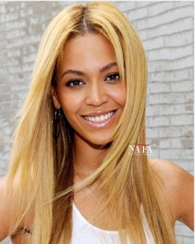 Beyonce Blonde Ombre Wig Transparent Lace Swiss Wig