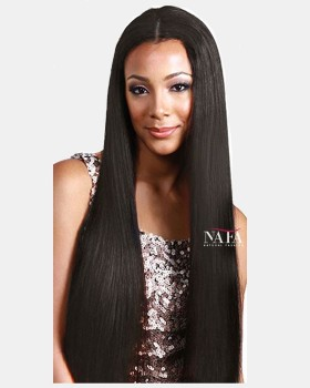 Virgin Hair Transparent Lace Long Human Hair Wig