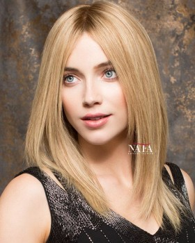 Charming Strawberry Blonde Lace Wig Silk Base Transparent Lace Color