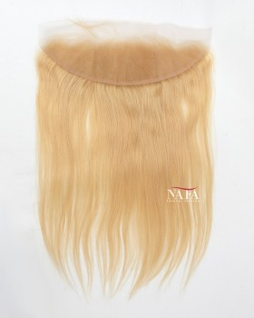 Nafawigs 24# Honey Blonde Frontal Straight Malaysian Lace Closure
