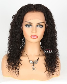 Real Human Hair Curly Lace Front Afro Wigs Hot Selling Curly African American Wigs