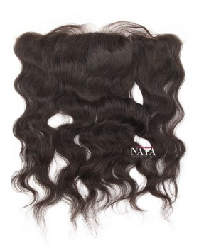 Invisible 13X4 Silk Base Lace Frontal Natural Wave