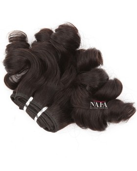 Cheap Short Curly Weave Bundles Big Loose Waves Remy Hair