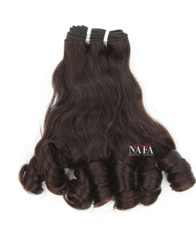 New Fashion Hair Peruvian Human Hair Wavy and Curl Tip Hairstyles 3 Bundles