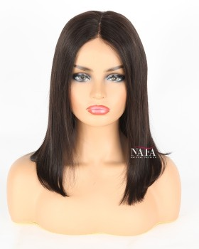 14-inch-middle-part-lace-closure-bob-wig