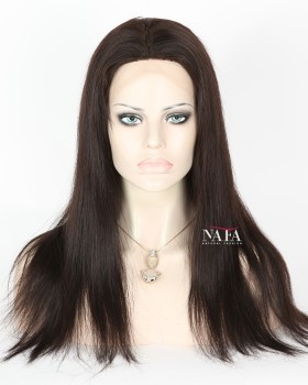 Straight Brazilian Wig Full Lace Glueless Straight Hair Glueless Full Lace Wigs With Silk Top