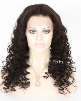 Long Sexy Black Curly Hair Afro Wig For African American