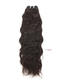 Nafawigs Indian Natural Wave Hair Weave Natural Indian Hair Extensions