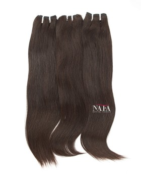 Long Straight Italian Wave Hair Black 3 Bundles