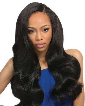 Nafawigs Gorgeous Yaki Body Wave  Full Lace Front Wig