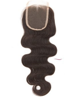 Nafawigs Natural Color Pre Plucked Body Wave Closure