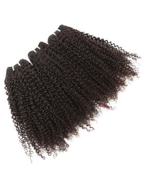 Nafawigs Short Ice Cube Jeri Curly 2018 Hair 3 Bundles