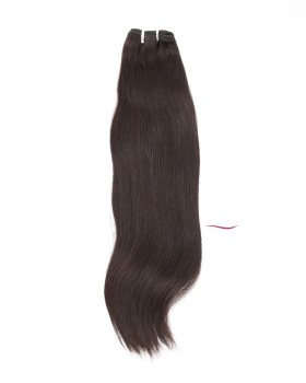 Medium To Long Straight Hair Indian Remy Natural Color 3 Bundles