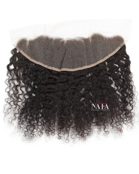 Tight Curly Hair Ear To Ear Lace Closure Frontal