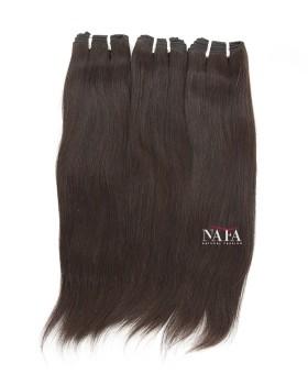 Virgin Italian Straight Black Hair Extensions 3 Bundles