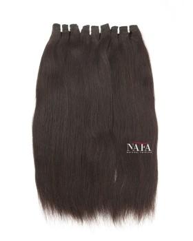 Nafawigs Yaki Straight Hair Weaves Natural Color 3 Bundles