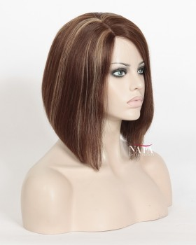 Nafawigs Fashion Short Human Hair Bob Wigs For Black Women