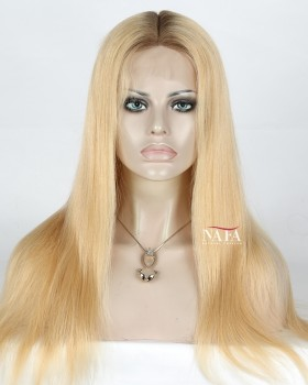 blonde-ombre-lace-front-wigs-with-dark-roots