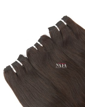 Long Straight Italian Wave Hair Black 3 Bundles