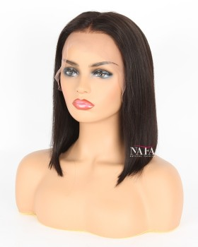 12 Inch Bob Wig Cheap Black Lace Front Bob Wigs On Sale