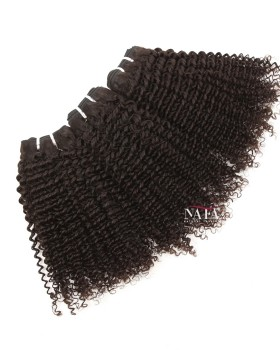 Kinki Curly Brazilian Curly Hair 3 Bundles Natural Color