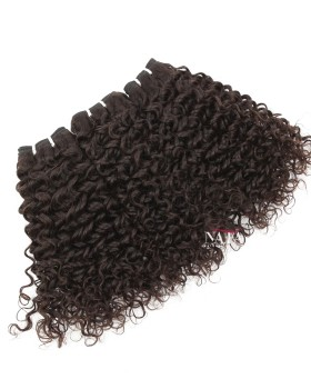 Nafawigs Brazilian Curly Human Hair Weave 3 Bundles