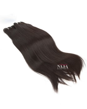 Nafawigs Remy Indian Hair Straight Weave Bundles