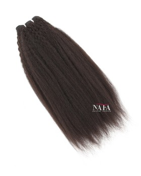 Nafawigs Afro Kinky Human Hair Natural Color Kinky Straight 3 Bundles