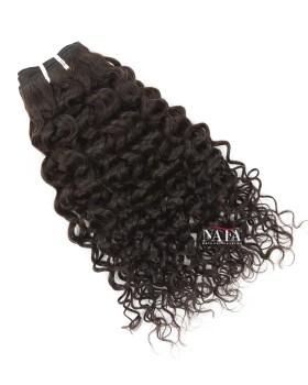 Nafafwigs Brazilian Curly Human Hair Weave 3 Bundles