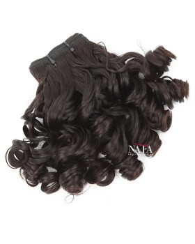 New Hair Fashion 2019 Wavy and Curl Tip Peruvian Human Hair Extensions
