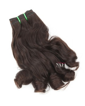 Medium Length Weave Hairstyles Short Quick Weave Style Double Draw Human Hair