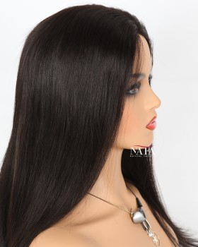 Best Glueless Full Lace Human Hair Wigs With Baby Hair Straight Hair