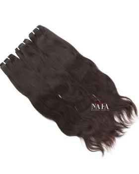 Extra Long Wavy Black Hair Real Human Hair 3 Bundles