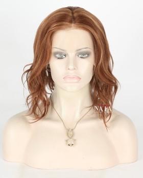 12-inch-human-hair-wavy-bob-wig-chestnut-brown-high-light-wig