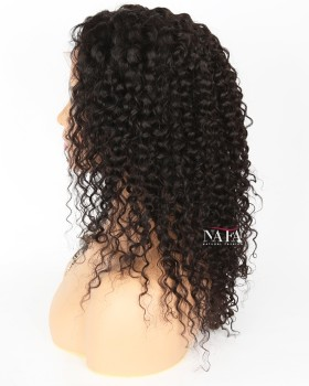 Cheap Human Hair Curly Lace Front Wigs With Baby Hair