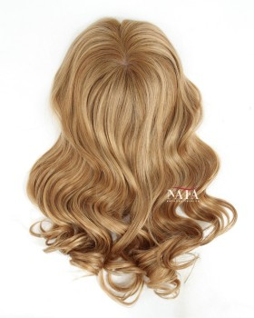 Best Curly 7x7 Lace Closure Bouncy Curl Silk Human Hair Topper
